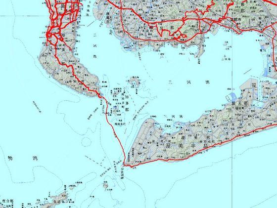 師崎—伊良湖カーフェリー