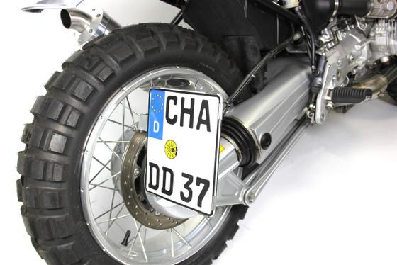 BMW R1100R Scrambler conversion by Hornig