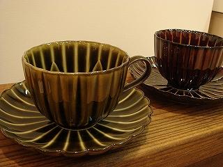 ぎやまんカップ&ソーサー