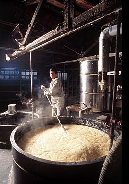 匠の石鹸の製造工程