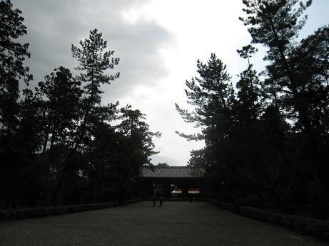 唐招提寺の道
