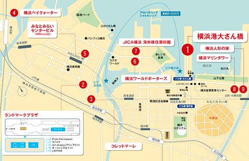 ハワイの噂・裏技・裏話_アロハヨコハマ地図
