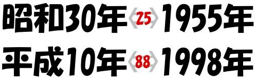 数字の噂・裏技・裏話_和暦と西暦を簡単に変換する方法