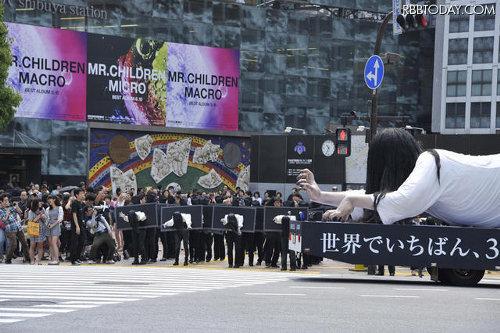 メディアの噂・裏技・裏話_渋谷に現れた50人以上の貞子
