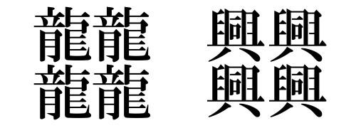 言葉の噂・裏技・裏話_64画の漢字
