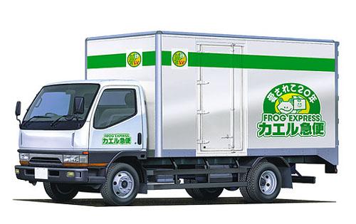 メディアの噂・裏技・裏話_カエル急便のナンバープレートは269(フロッグ)