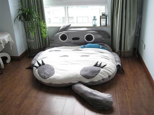 漫画・アニメ・キャラクターの噂・裏技・裏話_トトロのベッド(寝袋クッション)