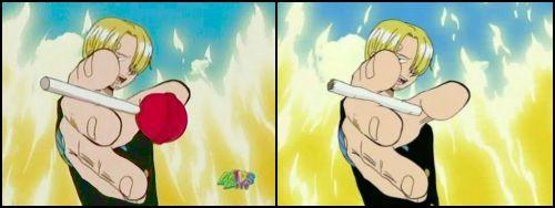 漫画・アニメ・キャラクターの噂・裏技・裏話_アメリカではワンピースのサンジが禁煙している