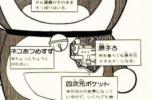 漫画・アニメ・キャラクターの噂・裏技・裏話_ドラえもんの動力は原子力