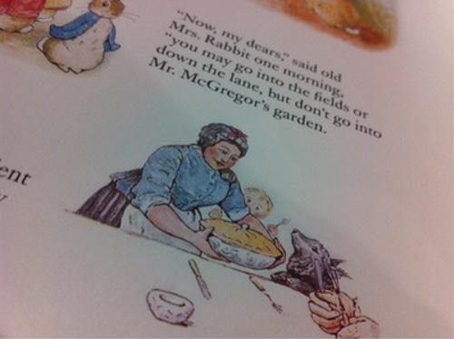 漫画・アニメ・キャラクターの噂・裏技・裏話_ピーターラビットのお父さんは人間にパイにされてしまった