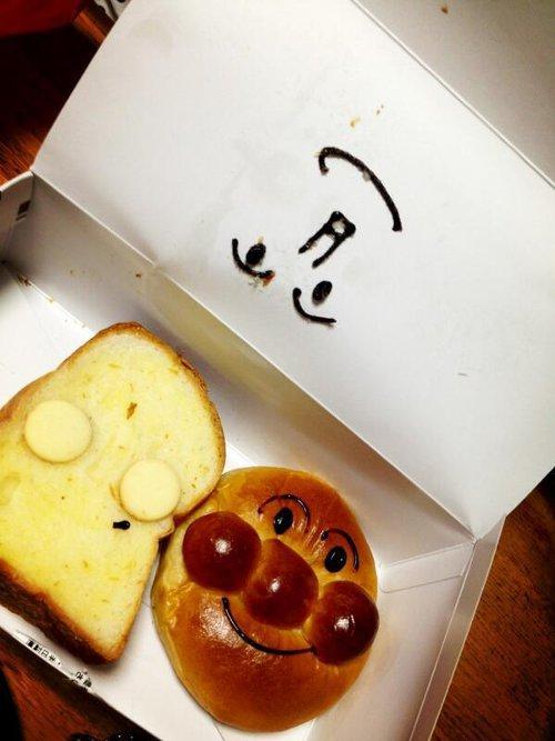 漫画・アニメ・キャラクターの噂・裏技・裏話_しょくぱんまんのキャラクターパンを買って起きた悲劇