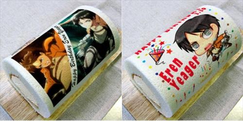 漫画・アニメ・キャラクターの噂・裏技・裏話_進撃の巨人の主人公エレン・イェーガーの誕生日ロールケーキが発売