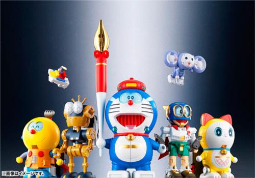 漫画・アニメ・キャラクターの噂・裏技・裏話_ドラえもんやコロ助が合体!バンダイが超合金ロボットを発売