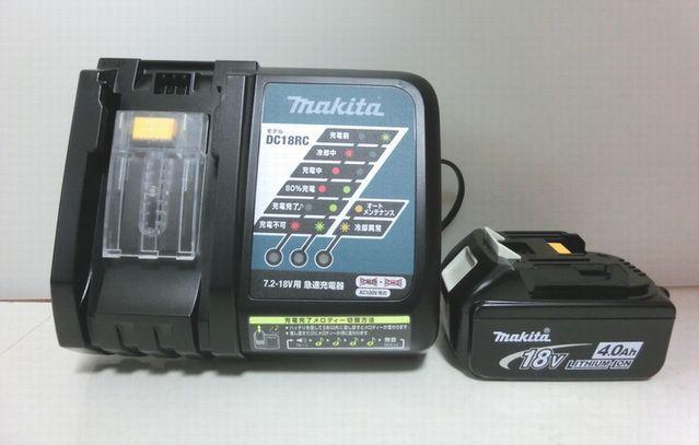 マキタ BL1840+DC18RC