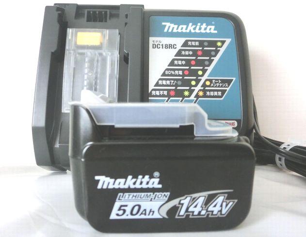 マキタ バッテリBL1450+充電器DC18RC