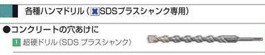 マキタ SDSプラス超硬ドリル