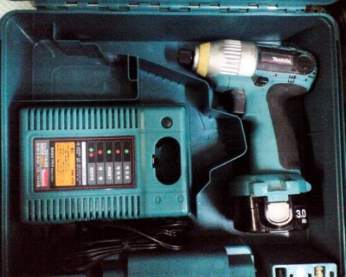 マキタ 6919NDにTD130,TP130用青ケース