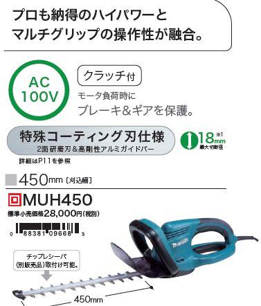 マキタ MUH450