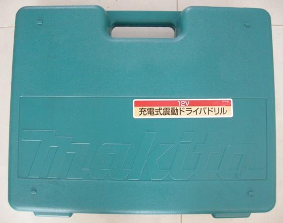 マキタ 12V震動ドライバドリル8413DRA付属ケース