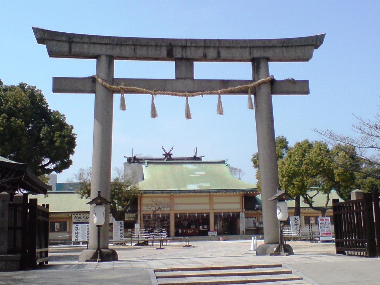 生国魂神社1