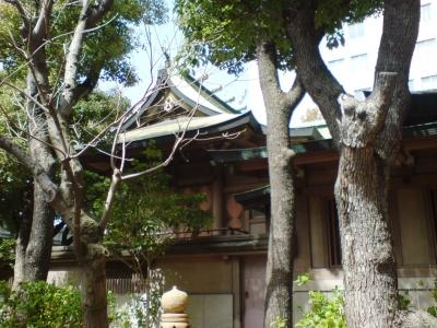 坐摩神社3