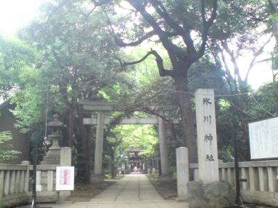 赤坂氷川神社1