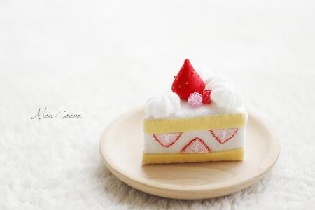 フェルトスイーツ ショートケーキ