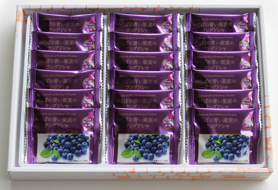 つくばの青い果実のラングドシャ  18個 中身.jpg