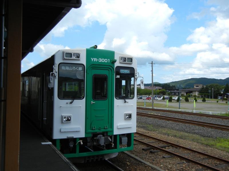 2012年夏 矢島駅