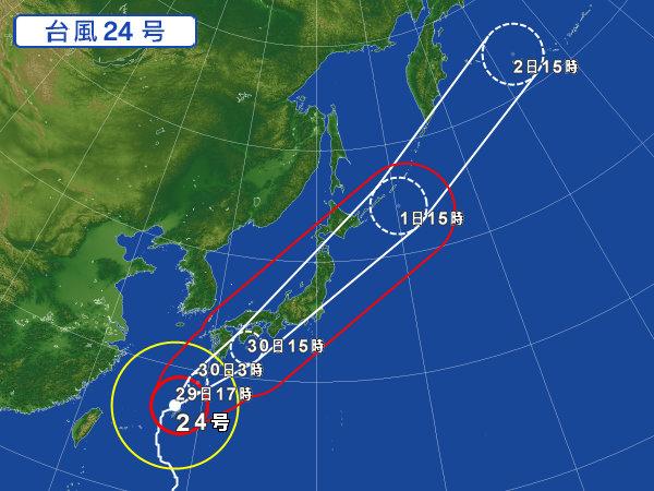 関東 台風 情報