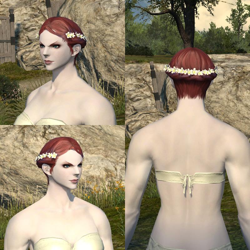 【4月27日追記】 蒼天のイシュガルドベンチマークソフトに収録された、3.0で追加されると思われる新たな髪型2種