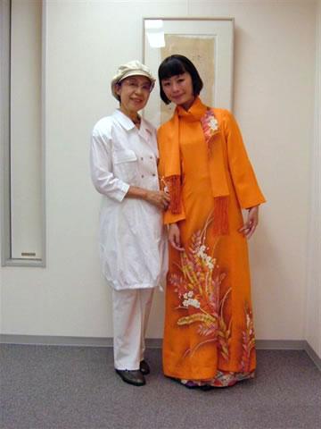 市瀬詩子さんと綾秦節