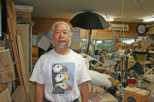 バードカービング巨匠 内山春雄先生