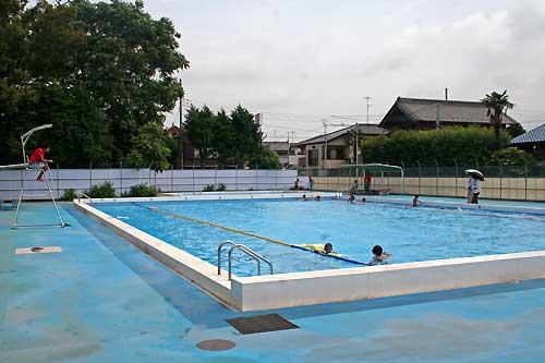 湖北小学校 開放プール