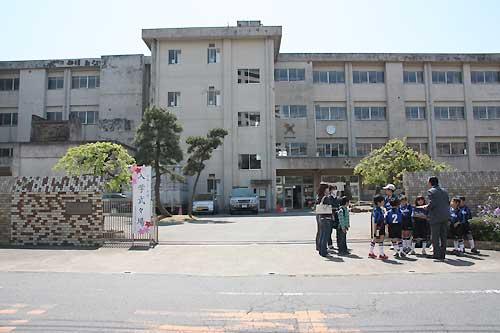 入学式 第4小学校