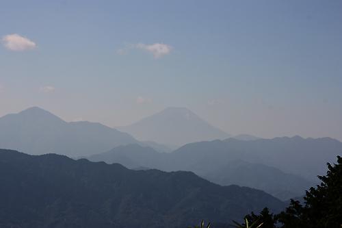 高尾山よりの富士山
