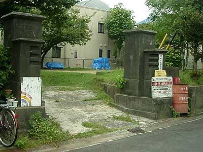 旧清水市医師会館門柱