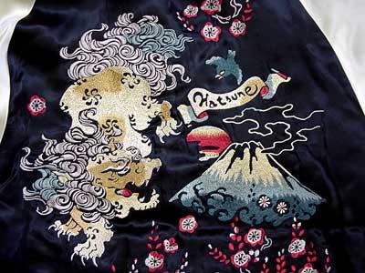 ちきりやリバーシブルスカジャン2007「初音と鳳凰兎」