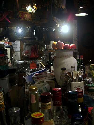 うさぎやの厨房