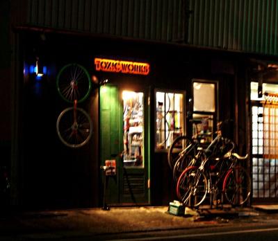 かっこいい自転車屋