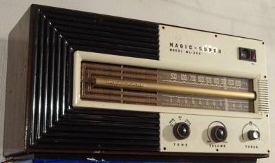 ナショナル真空管ラジオ
