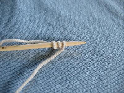 スワローショール編み始め1