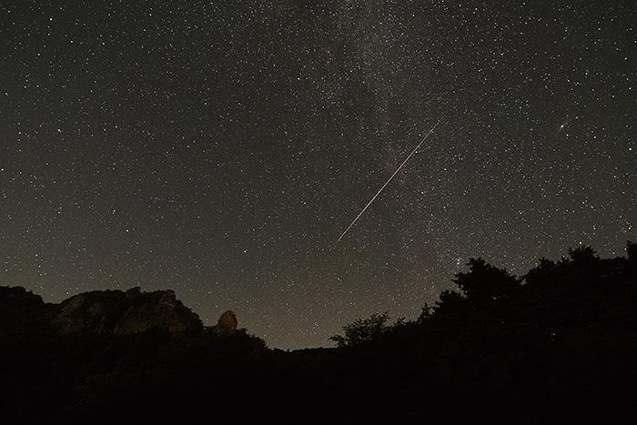 霊山(りょうぜん)流れ星