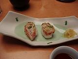 かに炙り寿司