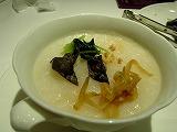中国粥の茶碗蒸し風 具乗せ