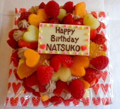 フルーつデコレーションケーキ