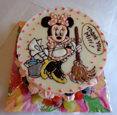 みにーちゃんのイラストケーキ2