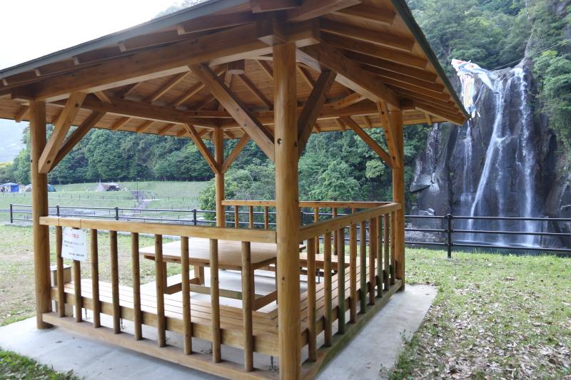飛雪の滝キャンプ場