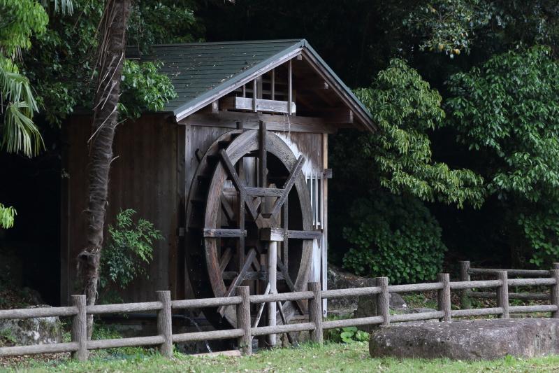 飛雪の滝キャンプ場水車小屋