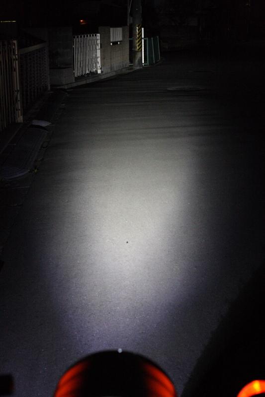 スーパーカブ110にLEDサブライト(補助灯)